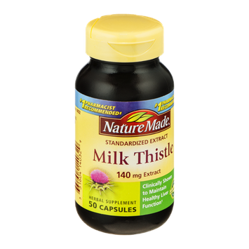 Nature Made Milk Thistle 140mg Extract Capsules - 50 CT