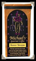 Michaels Coffee 20053 Donut Shoppe Flavored Coffee, 16 Oz. -Pack of 3