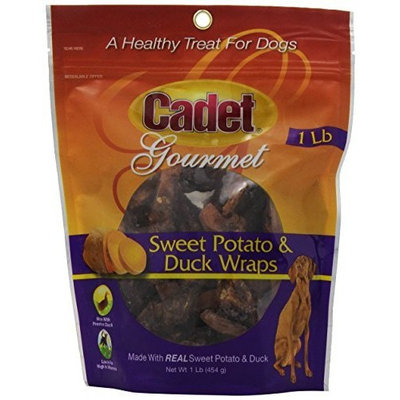 Cadet Duck and Sweet Potato Treat for Dogs, 16-Ounce Bag or Tub