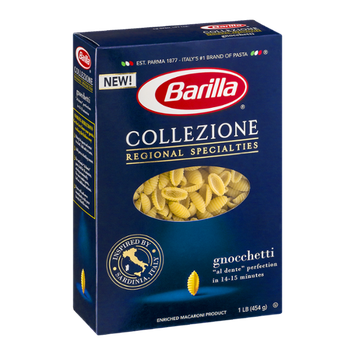 Barilla Pasta Collezione Regional Specialties Gnocchetti