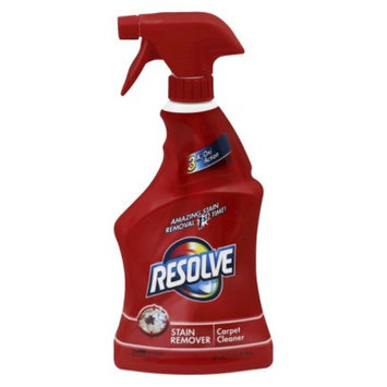 Resolve Stain Remover Carpet Cleaner 22 oz