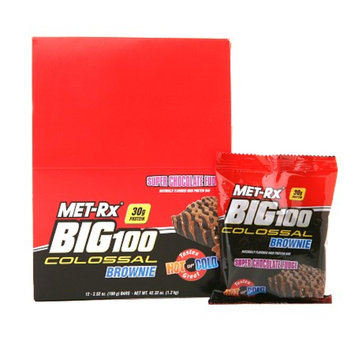 Met-Rx Big 100 Colossal Protein Brownies