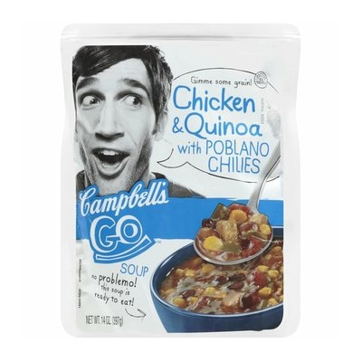 Campbell's Go Chicken & Quinoa with Poblano Chilies Go Soup