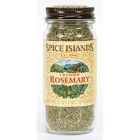 Spice Islands Rosemary, Crushed, 1.25-Ounce (Pack of 3)