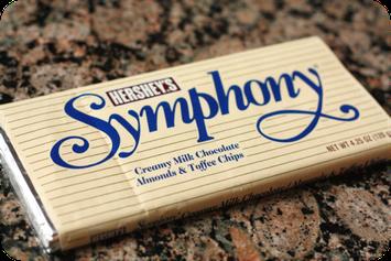 Hershey's Symphony Bar