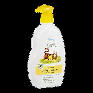 Disney Daily Renewal Naturals Top To Bottom Baby Lotion Powder Fresh