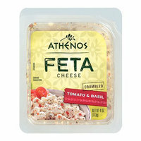 Athenos Tomato & Basil Crumbled Feta Cheese