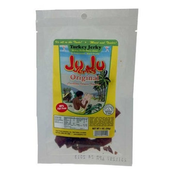 Juju Jerky JuJu Original Turkey Jerky Single Serve- 1 oz. pack