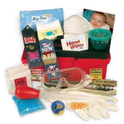 Fun Stuff 4 Babies Daddy Diaper Changing Toolbox, Key Lime Green