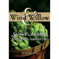 Wind and Willow Spinach Artichoke Cheeseball Mix - .5 Ounce (4 Pack)