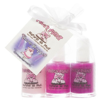 Rockhouse Industries, Inc Piggy Paint Show Stopper Non-Toxic Nail Polish Set - 3 Count