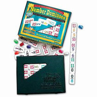 Dominoes Number Double 12 Set ages 6+, 1 ea