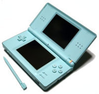 Nintendo DS Lite System - Ice Blue (ReCharged Refurbished)
