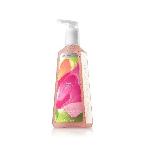 Bath & Body Works Sweet Pea Deep Cleansing Hand Soap 8 oz (236 ML)
