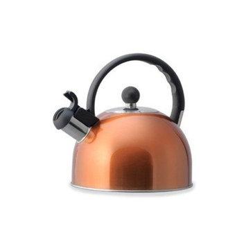 Kamenstein 2-1/2-Quart Whisle Tea Kettle, Copper