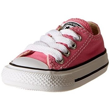 Converse Chuck Taylor All Star Lo Canvas Sneaker [Pink, 7 M US Toddler]