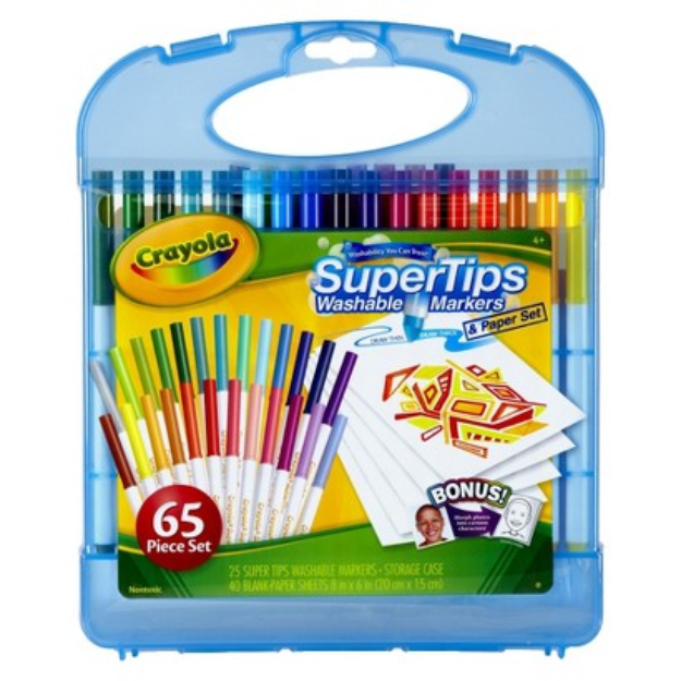 Crayola Supertips Marker Kit