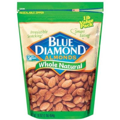 Blue Diamond Almonds Natural Almonds, 16 OZ (Pack of 6)