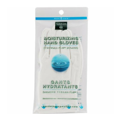 Earth Therapeutics Moisturizing Hand Gloves White 1 Pair