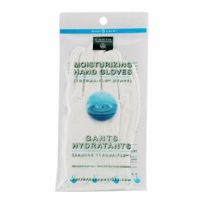 Earth Therapeutics Moisturizing Hand Gloves White 1 Pair