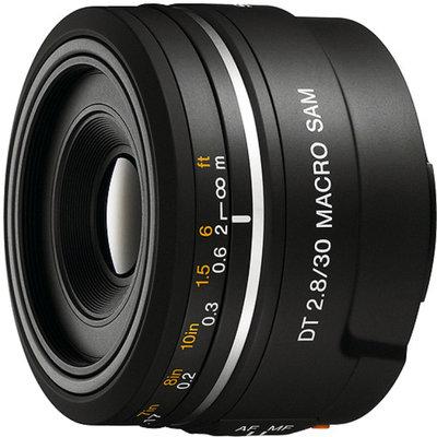 Sony DSLR SAL30M28 DT 30mm F2.8 Macro Sam Lens