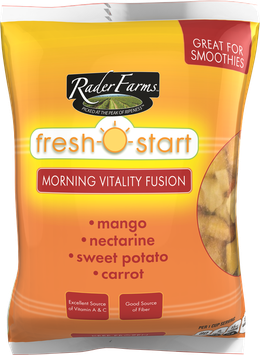 Rader Farms Fresh Start Morning Vitality Fusion