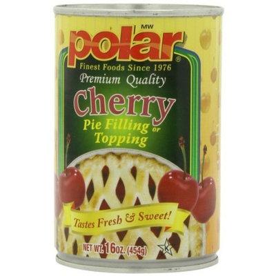 Polar   MW Polar Foods Cherry Pie Filling, 16-Ounce (Pack of 8)