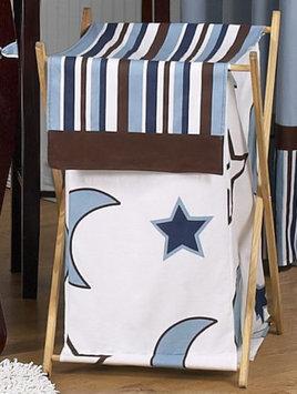Sweet Jojo Designs Starry Night Collection Laundry Hamper