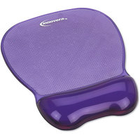 INNOVERA Innovera IVR51440 Innovera Gel Mouse Pad w/Wrist Rest, Nonskid Base, 8-1/4 x 9-5/8, Purple