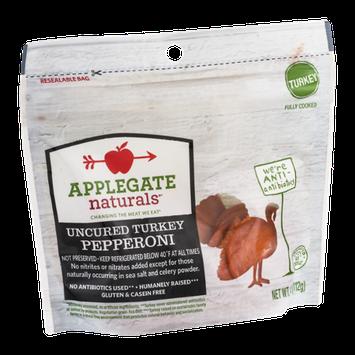 Applegate Naturals Uncured Turkey Pepperoni