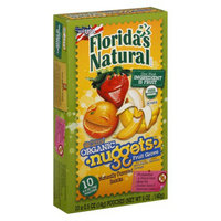 Au'some Florida's Natural  Organic Nuggets Fruit Grove Flavored Snacks