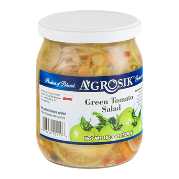 A-Grosik Green Tomato Salad