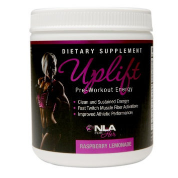 NLA for Her Uplift Pre-Workout Energy Raspberry Lemonade