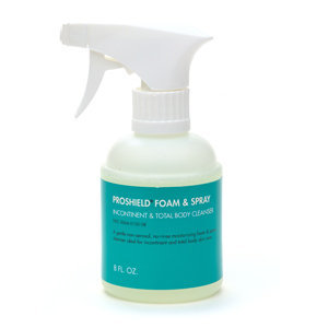Proshield Foam & Spray Incontinent & Total Body Cleanser