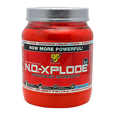BSN Advanced Strength N.O.-Xplode 2.0 Blue Razz Powder