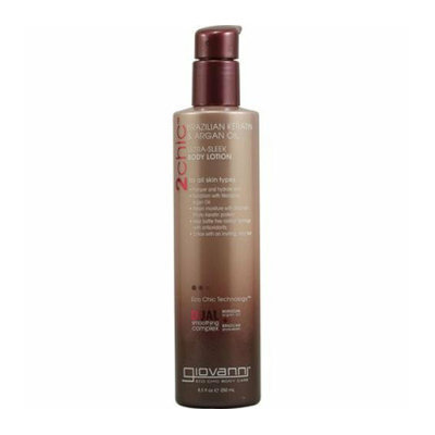 Giovanni Hair Products Giovanni 2chic Ultra-Sleek Body Lotion with Brazilian Keratin and Argan Oil 8.5 fl oz