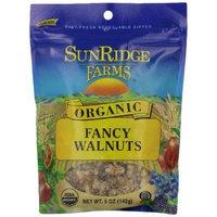 Sunridge Farms Organic Fancy Walnut Halves 5-Ounce Bags (Pack of 12)
