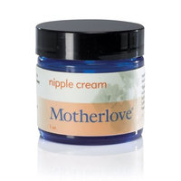 Motherlove Herbal Company Motherlove Nipple Cream Certified Organic Salve for Sore Cracked Nursing Nipples, 1oz Glass Jar