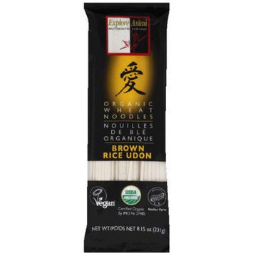 Explore Asian Brown Rice Udon Noodles, 8.15 oz, (Pack of 10)