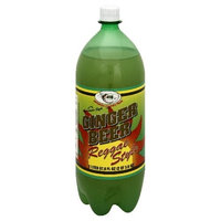 JCS Soda Ginger Beer, 67.61-Ounce (Pack of 8)