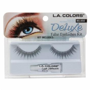 L.A. Colors Deluxe False Eyelash Kit, 1 ea