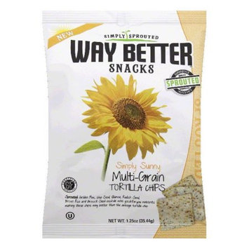 Way Better Snacks Simply Tortilla Chips Multi Grain 1.25 oz