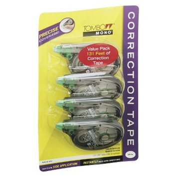 Tombow Non-Refillable Mono Correction Tape - White (4 Per Pack)