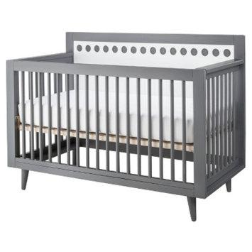 Stork Craft Bayshore 3-in-1 Convertible Crib - Grey/White