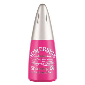 Somersets Women's Extra Sensitive Shaving Oil, .5 fl oz