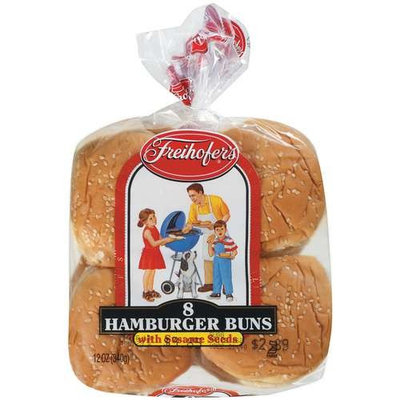 Freihofer's: Hamburger Buns, 12 oz