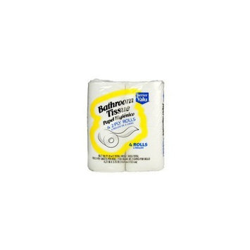 Better Valu Two Ply Bathroom Tissue (Case of 24)