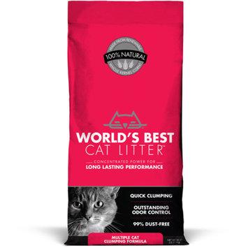 World's Best Multiple Cat Clumping Cat Litter