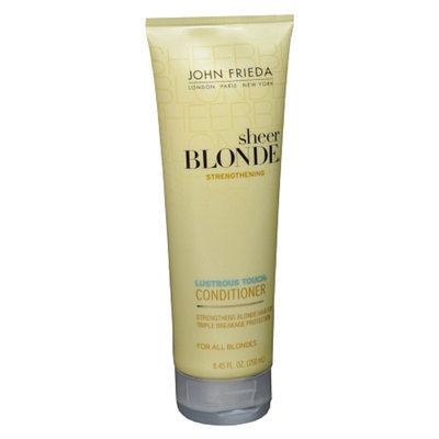 John Frieda Sheer Blonde Lustrous Touch Strengthening Conditioner