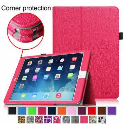 iPad Air 2 Case [Corner Protection] - Fintie Slim Fit Leather Folio Case with Auto Sleep / Wake Feature, Magenta